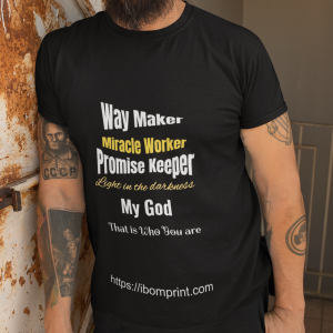 Way Maker T-Shirts 1